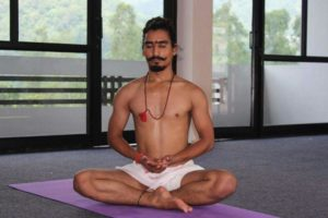 Yoga Teacher Manoj Rawat