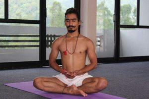Yoga Teacher Manoj Rawat